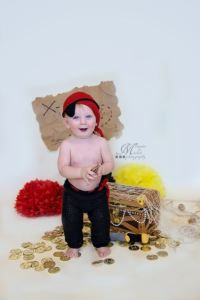 Crochet Pirate Outfit by AMKCrochet
